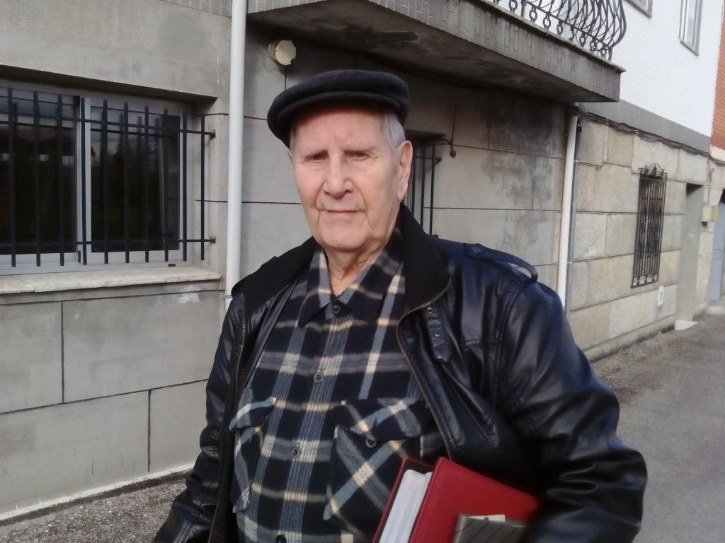 Camilo ten 84 anos na actualidade